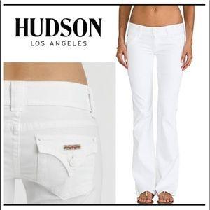 WHITE HUDSON JEANS !